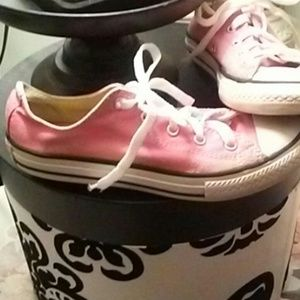 "Converse Pink ""Chucks"" Sneakers"